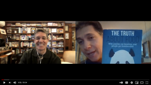 Dr. Tom showcases Dr. Katz's book, The Truth About Food