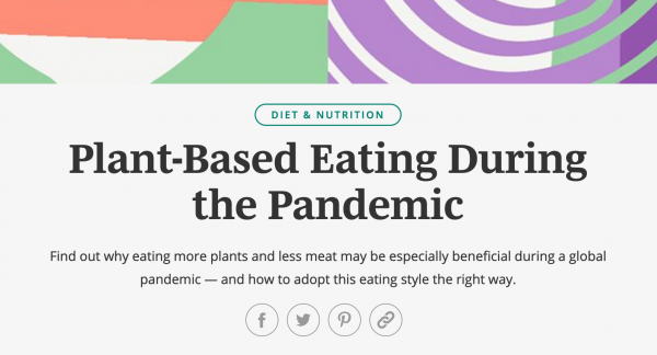 Plant-Based Eating During the Pandemic