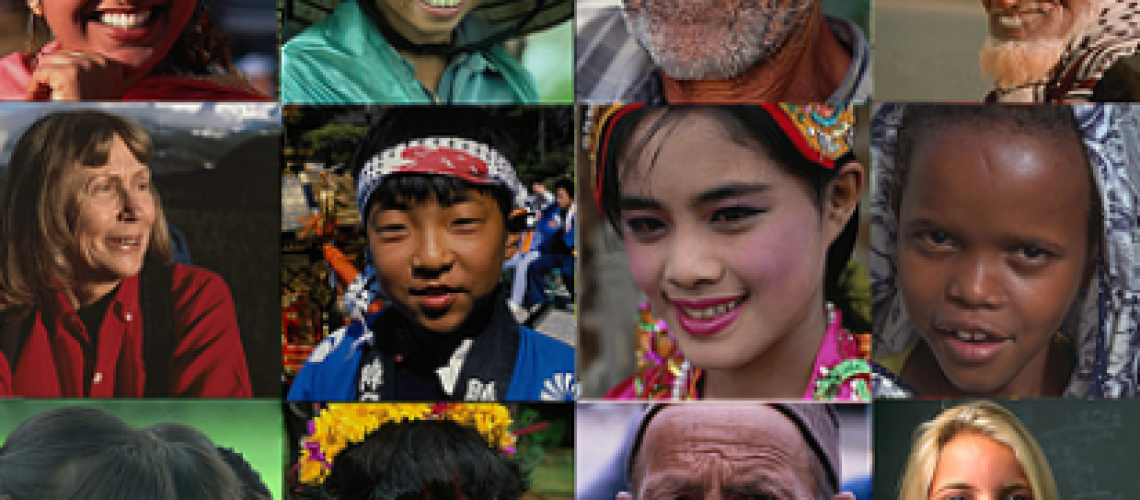 Headshots of 12 people of different ethnic backgrounds
